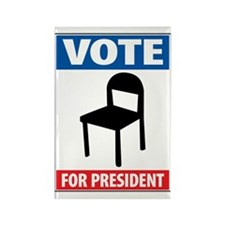Chair For President Rectangle Magnet (10 pack)