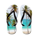 Palms and Sand Flip Flops