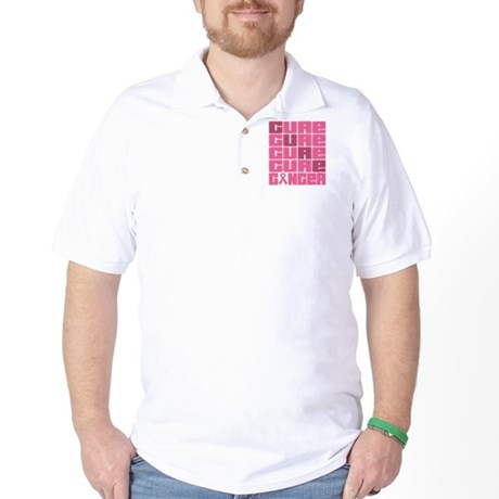 CURE Breast Cancer Golf Shirt