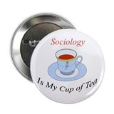 Sociology is my cup of tea Button