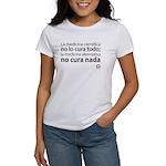 Camiseta Blanca Mujer Medicina