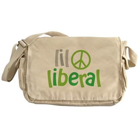 Lil Liberal Messenger Bag