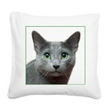 RBlue_rectancle1.jpg Square Canvas Pillow
