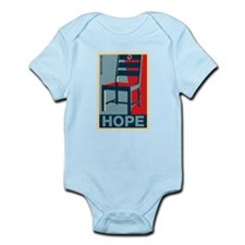 Obama - Hope and a Chair Infant Bodysuit