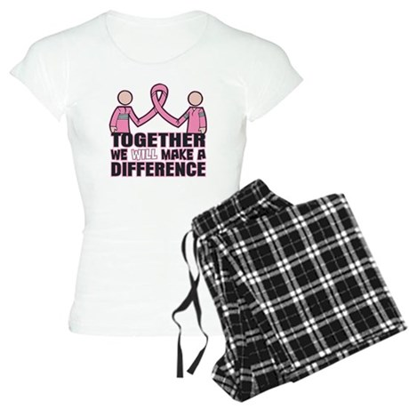 Breast Cancer Together Women's Light Pajamas