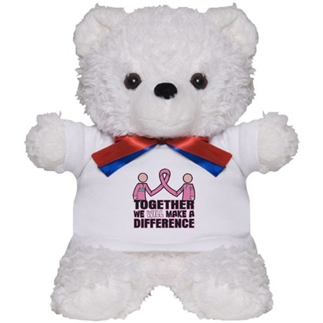 Breast Cancer Together Teddy Bear