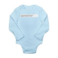Must Long Sleeve Infant Bodysuit