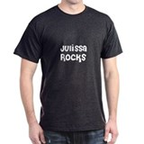 Julissa Rocks Black T-Shirt
