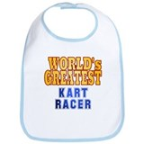 World's Greatest Kart Racer Bib