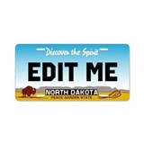 North Dakota - Discover the Spirit licence plate