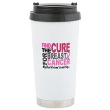 Find The Cure 1.2 Breast Cancer Ceramic Travel Mug