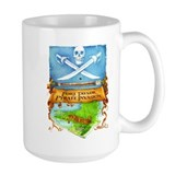 Fort Taylor Pyrate Invasion Ceramic Mugs