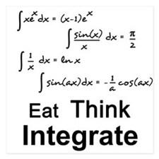 Eat. Think. Integrate. Invitations