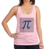 1000 Digits of Pi Racerback Tank Top