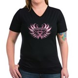 Breast Cancer Heart Wings Shirt
