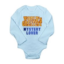 World's Greatest Mystery Lover Long Sleeve Infant