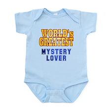 World's Greatest Mystery Lover Infant Bodysuit