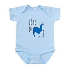 Como te llamas Infant Bodysuit