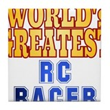 World's Greatest RC Racer Tile Coaster