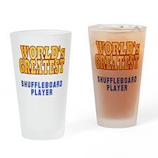 World's Greatest Shuffleboard Player Drinking Glas