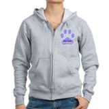 Vet Tech Paw 22 Zip Hoody