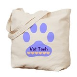 Vet Tech Paw 22 Tote Bag