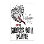 Snakes On A Plane Mini Poster Print