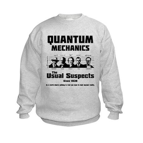 Quantum Mechanics-The Usual Suspects Kids Sweatshi