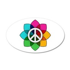 Flower of Peace Wall Decal