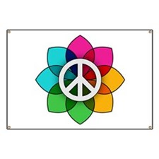 Flower of Peace Banner