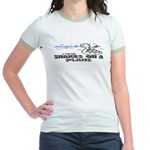 Snakes On A Plane Jr. Ringer T-Shirt