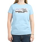 Snakes On A Plane Women's Pink T-Shirt