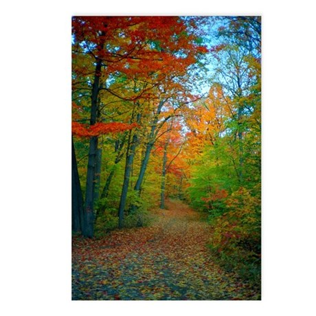A New England Autumn Postcards (Package of 8)