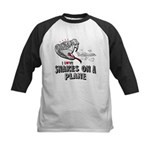 Snakes On A Plane Kids Baseball Jersey