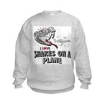 Snakes On A Plane Kids Sweatshirt
