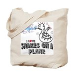 Snakes On A Plane Tote Bag