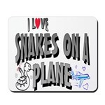 Snakes On A Plane Mousepad