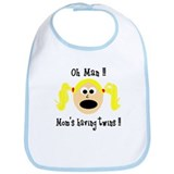 Mom's having twins Bib