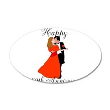 Custom Anniversary Wall Decal
