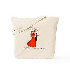 Custom Anniversary Tote Bag