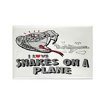 Snakes On A Plane Rectangle Magnet
