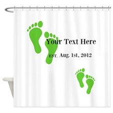 EST. Dad Shower Curtain