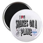 Snakes On A Plane Magnet