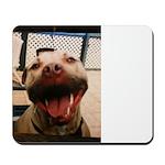 DCK the RedNose american pitbull terrier Mousepad
