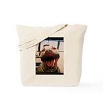 DCK the RedNose american pitbull terrier Tote Bag