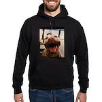 DCK the RedNose american pitbull terrier Hoodie (d