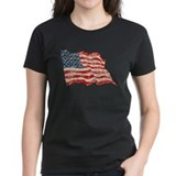 Faded Glory Waving Flag Tee