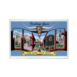 Texas Greetings Rectangle Magnet (10 pack)