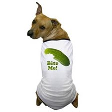 Bite Me! Pickle Dog T-Shirt