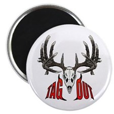 "Tag Out whitetail 2.25"" Magnet (10 pack)"
